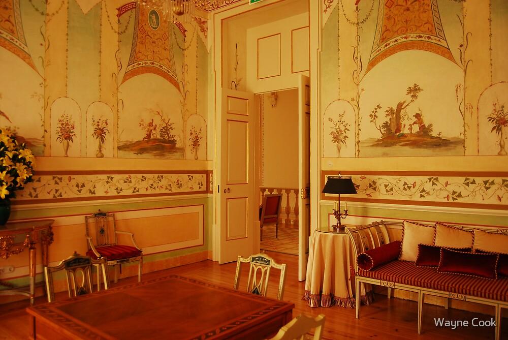 Palace Seteais-Sintra, Portugal by Wayne Cook