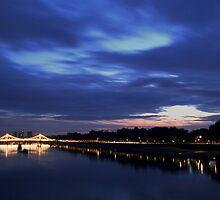 Albert Bridge by DanRedrup