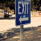 EXIT by brittany m. photography