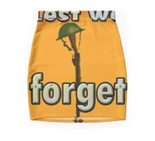 LEST WE FORGET PR> Mini Skirt