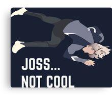 Joss, U O us Canvas Print