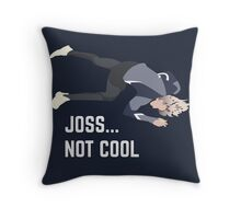 Joss, U O us Throw Pillow