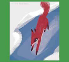 Slippery Red Fox Kids Tee