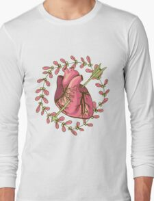 heart anatomical Long Sleeve T-Shirt