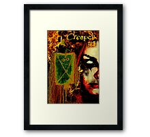 CREEPER NO1 COVER Framed Print