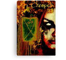 CREEPER NO1 COVER Canvas Print