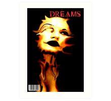 DREAMS COVER Art Print