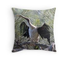 Sea bird Throw Pillow