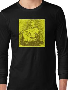 Buddha of Compassion 2 - Design 3 Long Sleeve T-Shirt