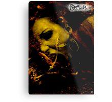 CREEPER COVER Metal Print