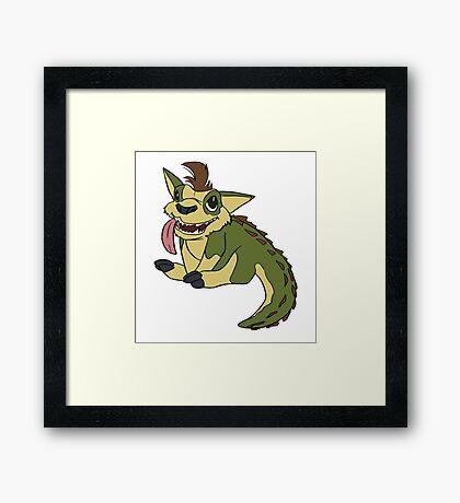 Crocapup Framed Print