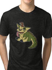 Crocapup Tri-blend T-Shirt