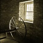 Inside the round barn, Hancock Shaker Village, MA by tj57