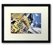 Draco Racing Framed Print