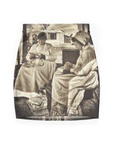 Crafty Ladies Mini Skirt