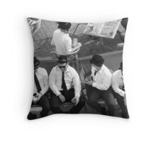 Daytime Blues Throw Pillow