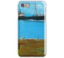 (  RETURNING WITH THE CATCH. ) iPhone Case/Skin