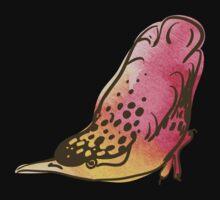 sketch of bird, watercolor by OlgaBerlet