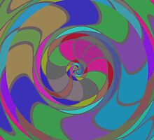 Colorful whirlpool by lalylaura