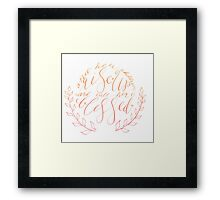 Her Children Rise up and Call Her Blessed -Color Framed Print