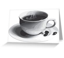Coffee Greeting Card
