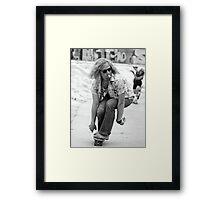 Lords Of Dogtown Heath Ledger Framed Print