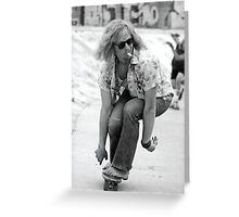 Lords Of Dogtown Heath Ledger Greeting Card