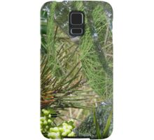 Gorgeous Greens Samsung Galaxy Case/Skin