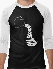 Barista Pitcher Men's Baseball ¾ T-Shirt