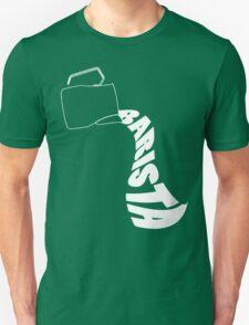 Barista Pitcher Unisex T-Shirt