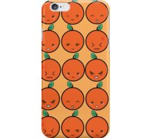 Orange Emotion iPhone Case/Skin