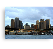A View Of Sydney Canvas Print