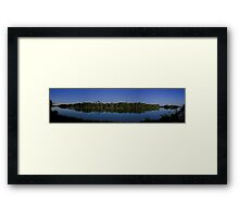 Still Waters, River Murray,  Moorook, South Austarlia Framed Print