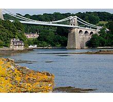 Bridge over the strait Photographic Print