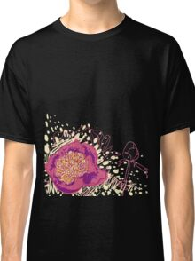 peony flowers Classic T-Shirt