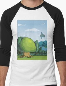 Pixelandscape Men's Baseball ¾ T-Shirt