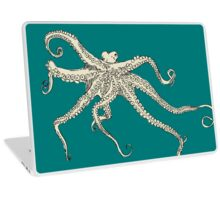 Vector illustration of hand drawn with octopus Laptop Skin
