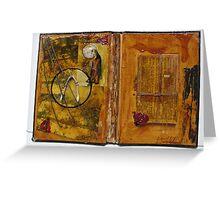 Artist Book 3 (wishbone) Greeting Card