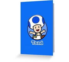 Toad Phone Case Greeting Card