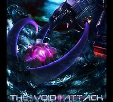 The Void Attack - Vel'Koz vs Malphite by DANT art