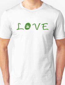 Love marijuana Unisex T-Shirt