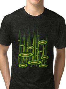 Green grass Tri-blend T-Shirt