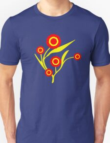 Flaming Flowers T-Shirt