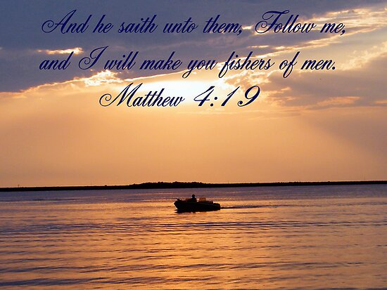 Matthew 4:19 by R&PChristianDesign &Photography