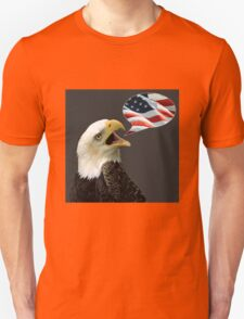 The Eagle Says Unisex T-Shirt