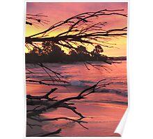 Yamba Sunset Poster