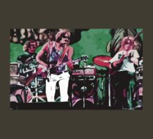 The Grateful Dead in Englishtown - Design 2 by Kevin J Cooper
