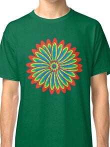 Psychedelic flower Classic T-Shirt