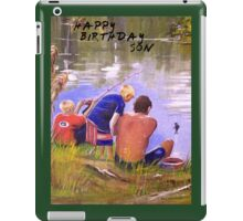HAPPY BIRTHDAY SON iPad Case/Skin