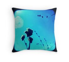 Biggest Blue Throw Pillow